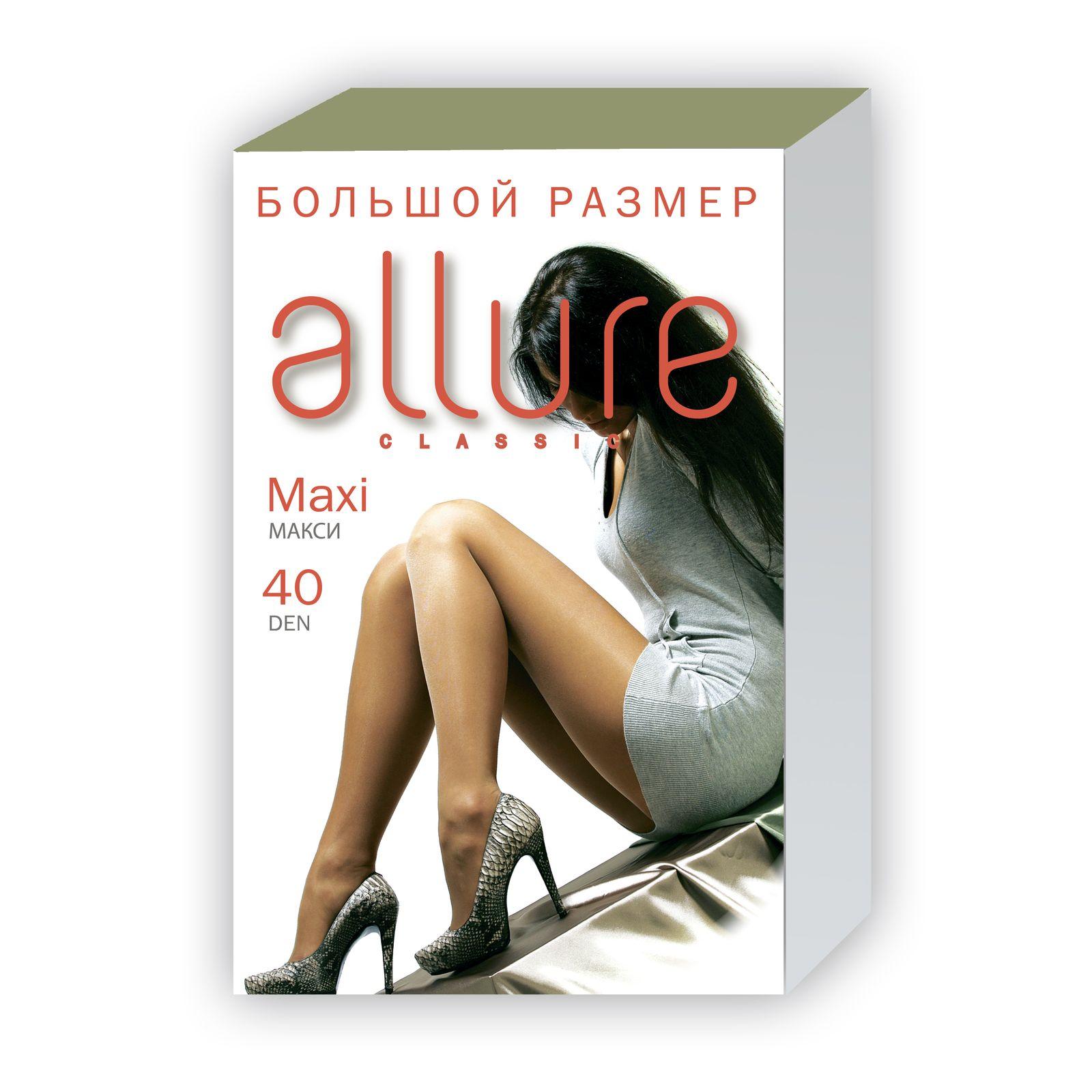 Комплект колготок для большого размера «Allure»