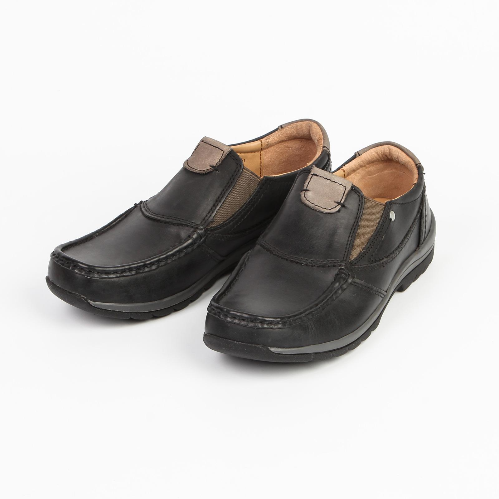 Туфли женские с эластичными вставками