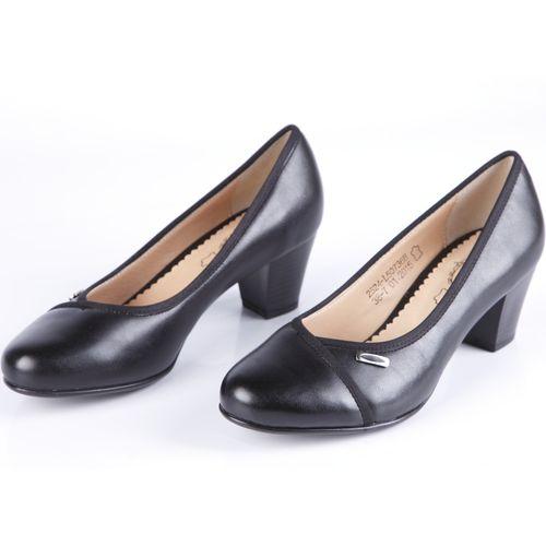 Туфли женские с декоративной деталью