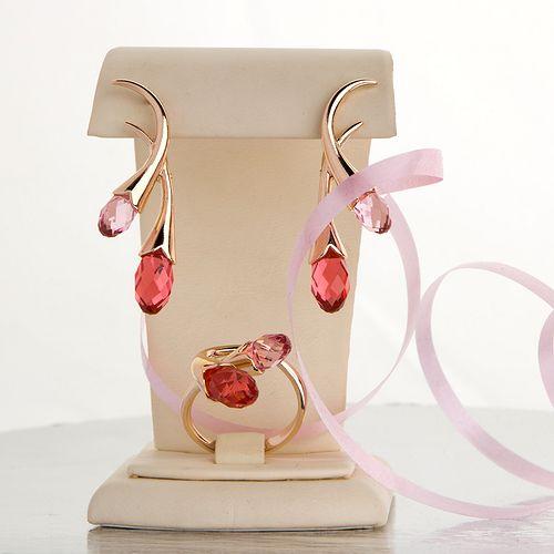 Комплект украшений «Jenavi. Тюльпаны»