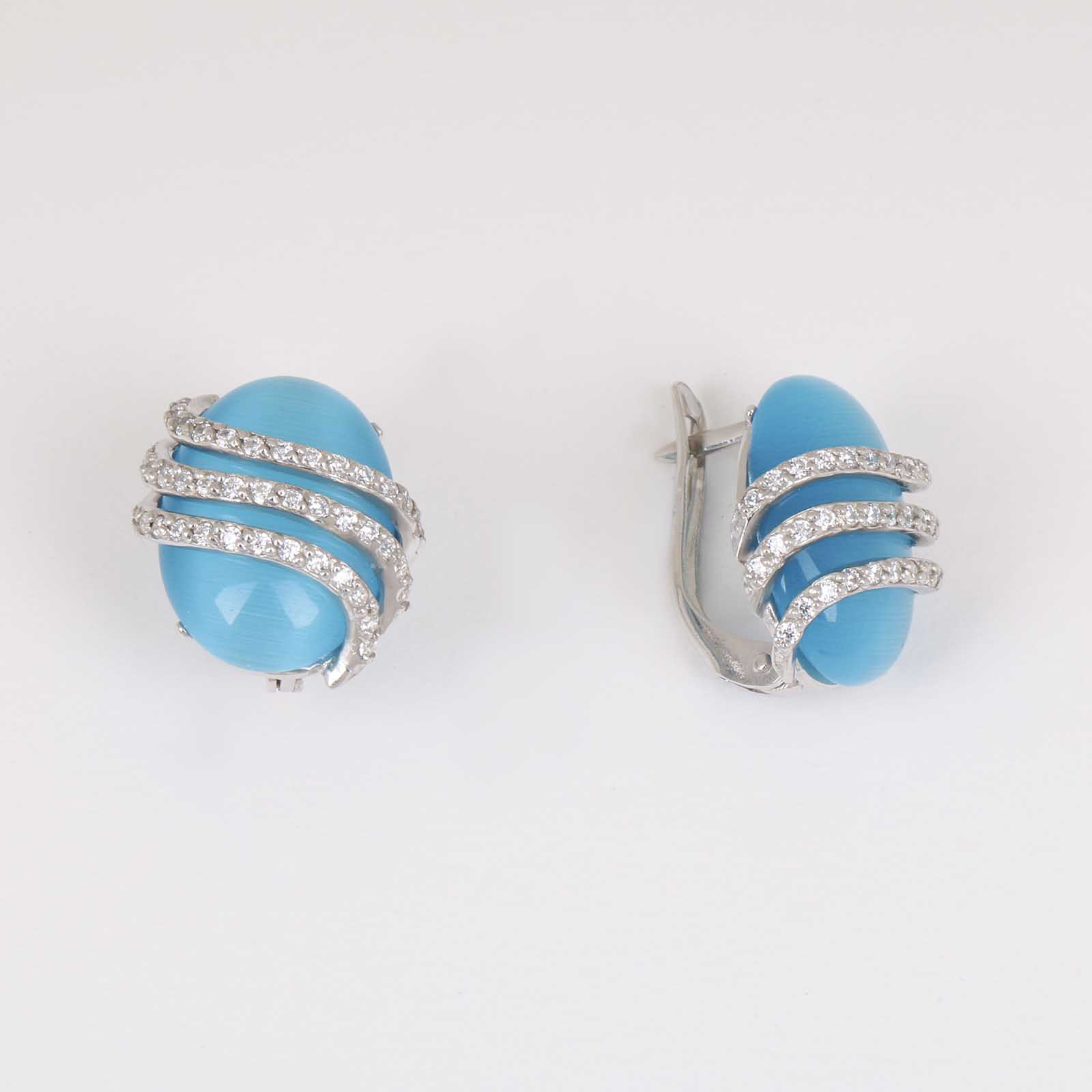 Серебряные серьги «Мечта»