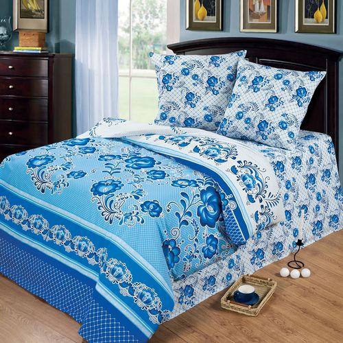 Комплект постельного белья «Гжель»