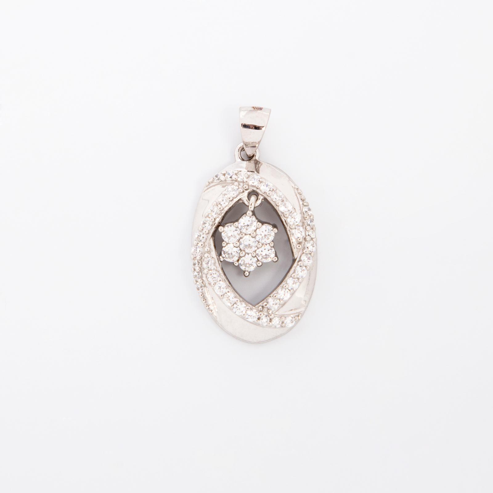Серебряная подвеска «Звезда счастья»