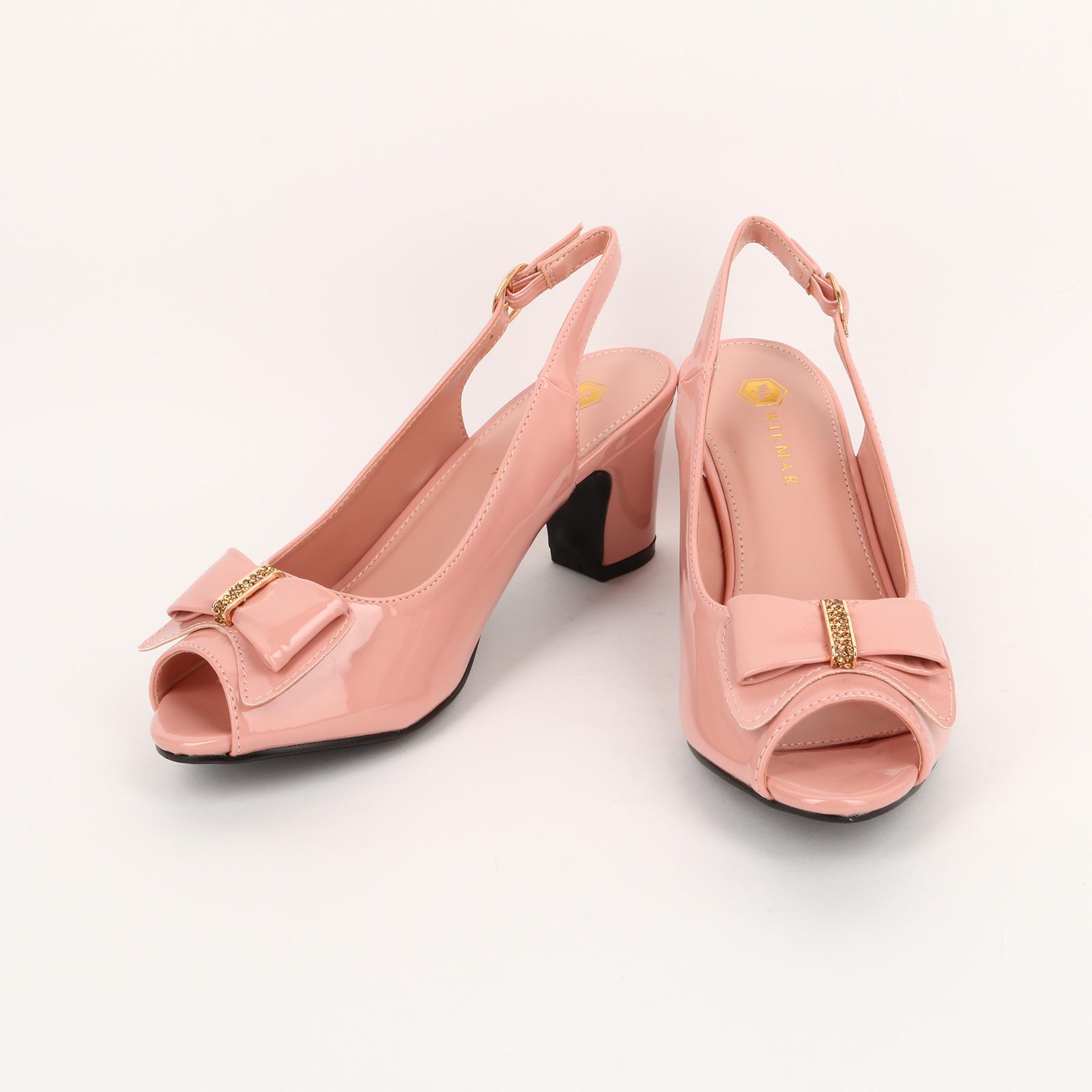 Туфли женские с заcтежкой и украшением