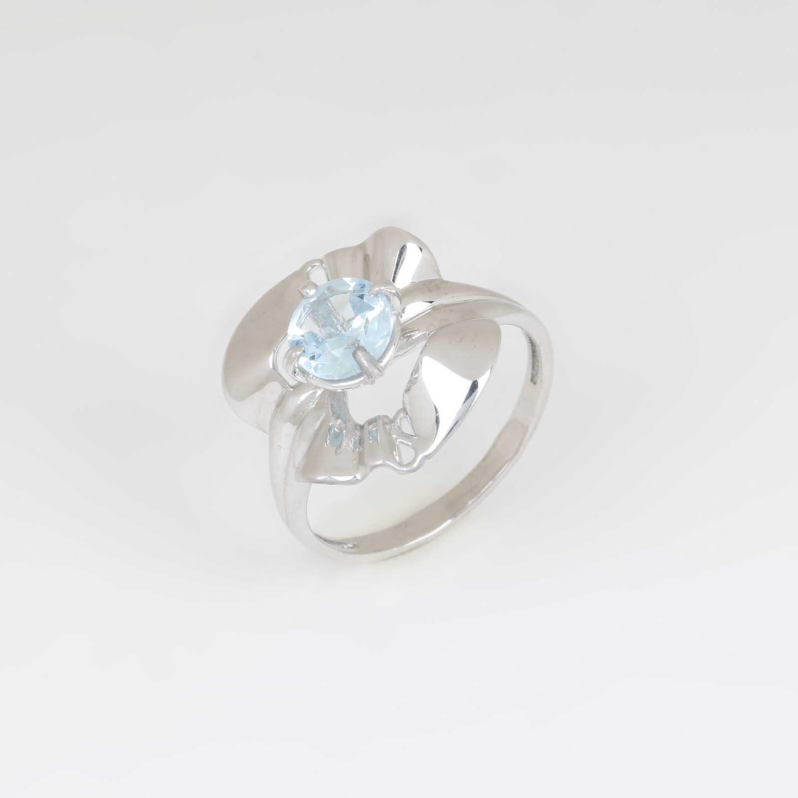 Серебряное  кольцо «Таинственный цветок»