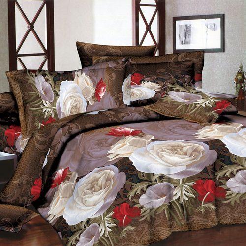 Комплект постельного белья «Орнамент из роз»