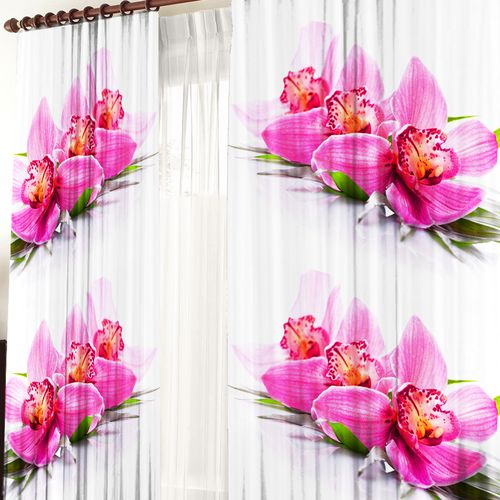 Комплект штор «Розовая Орхидея»
