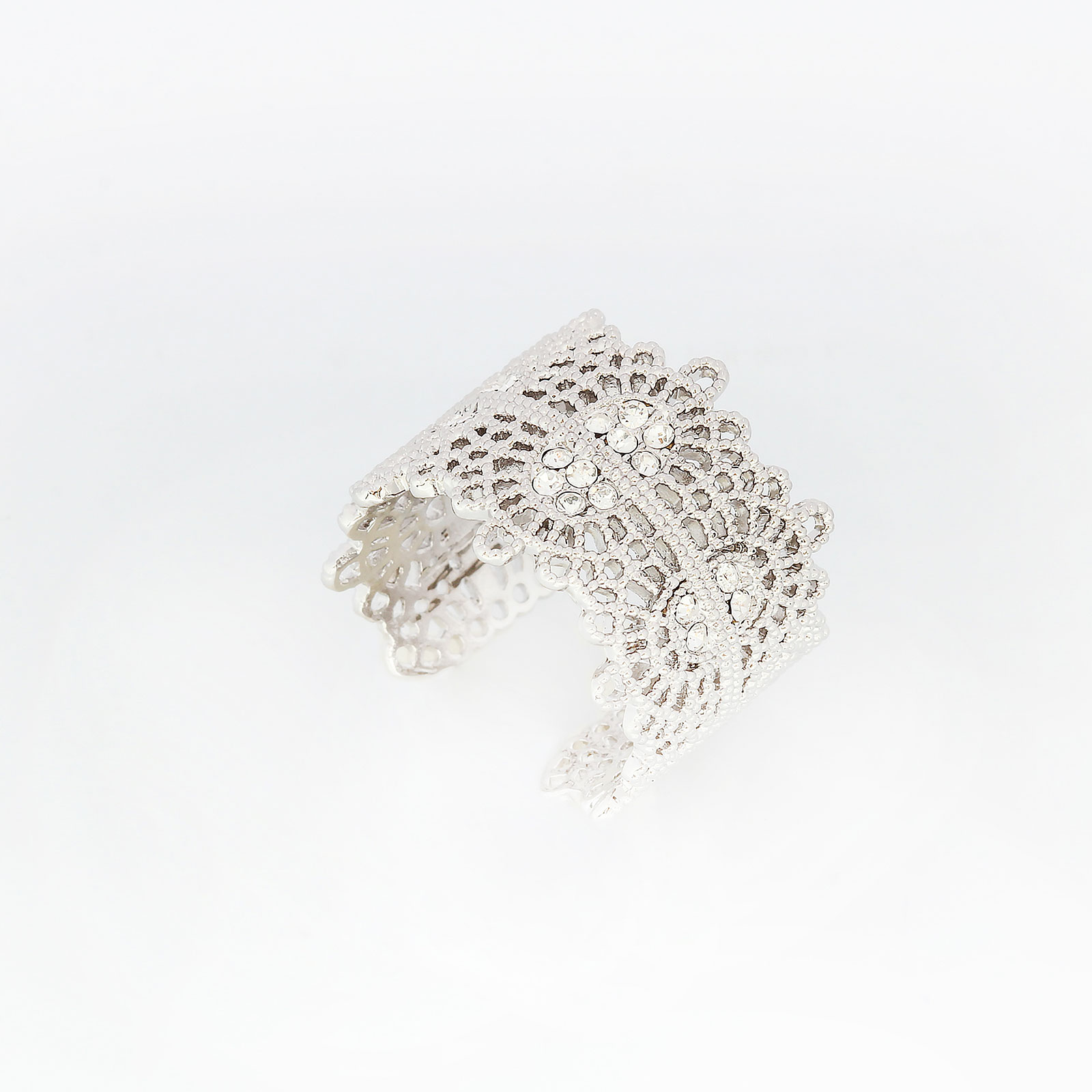 Кольцо «Изящное кружево»