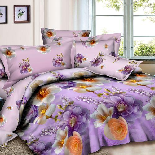 Комплект постельного белья «Сиреневый сад»