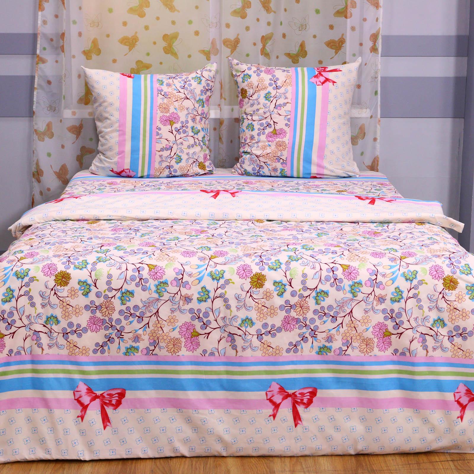 """Комплект постельного  белья """"Цветочная Нежность"""""""