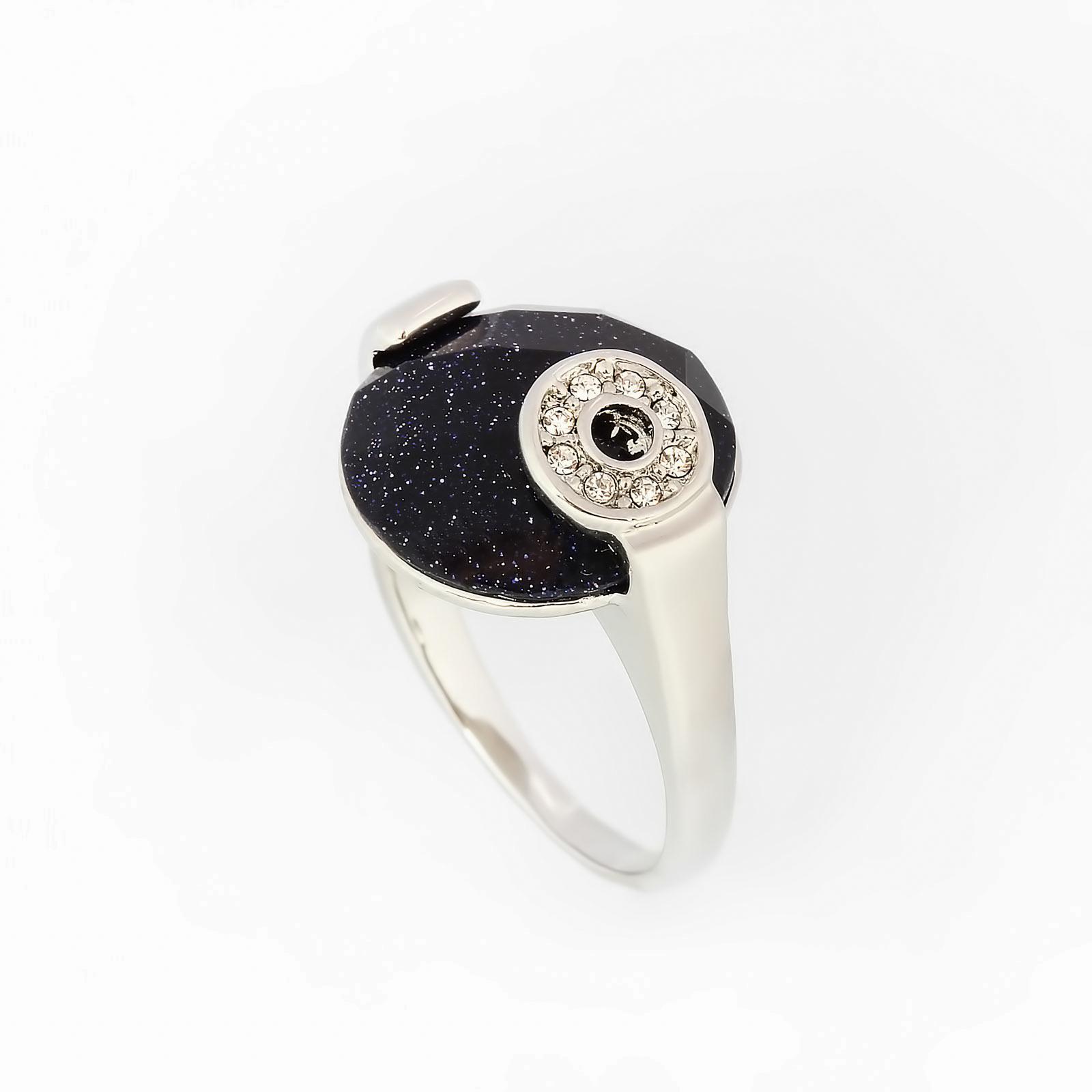 Кольцо «Черное золото»