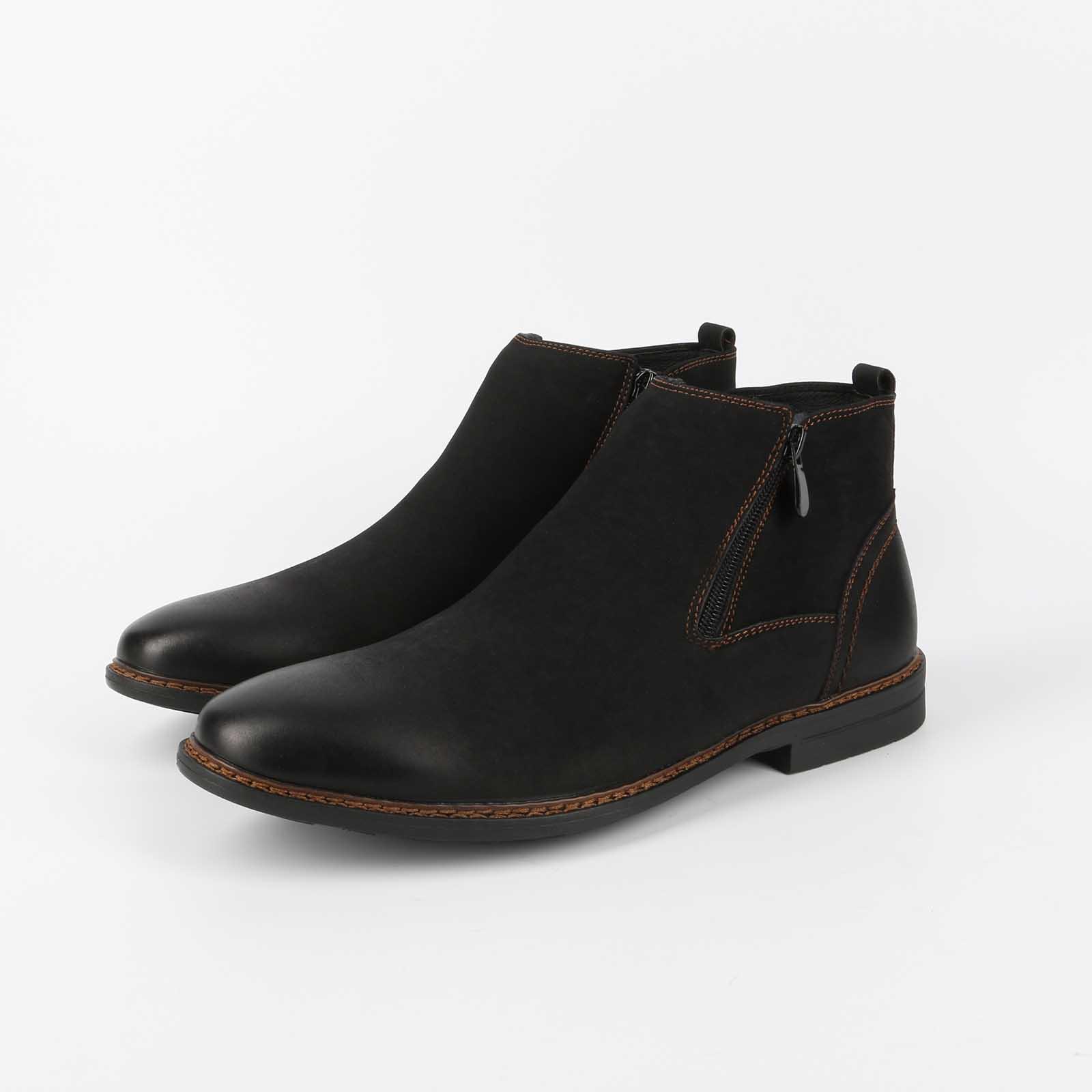 Ботинки мужские с модным дизайном