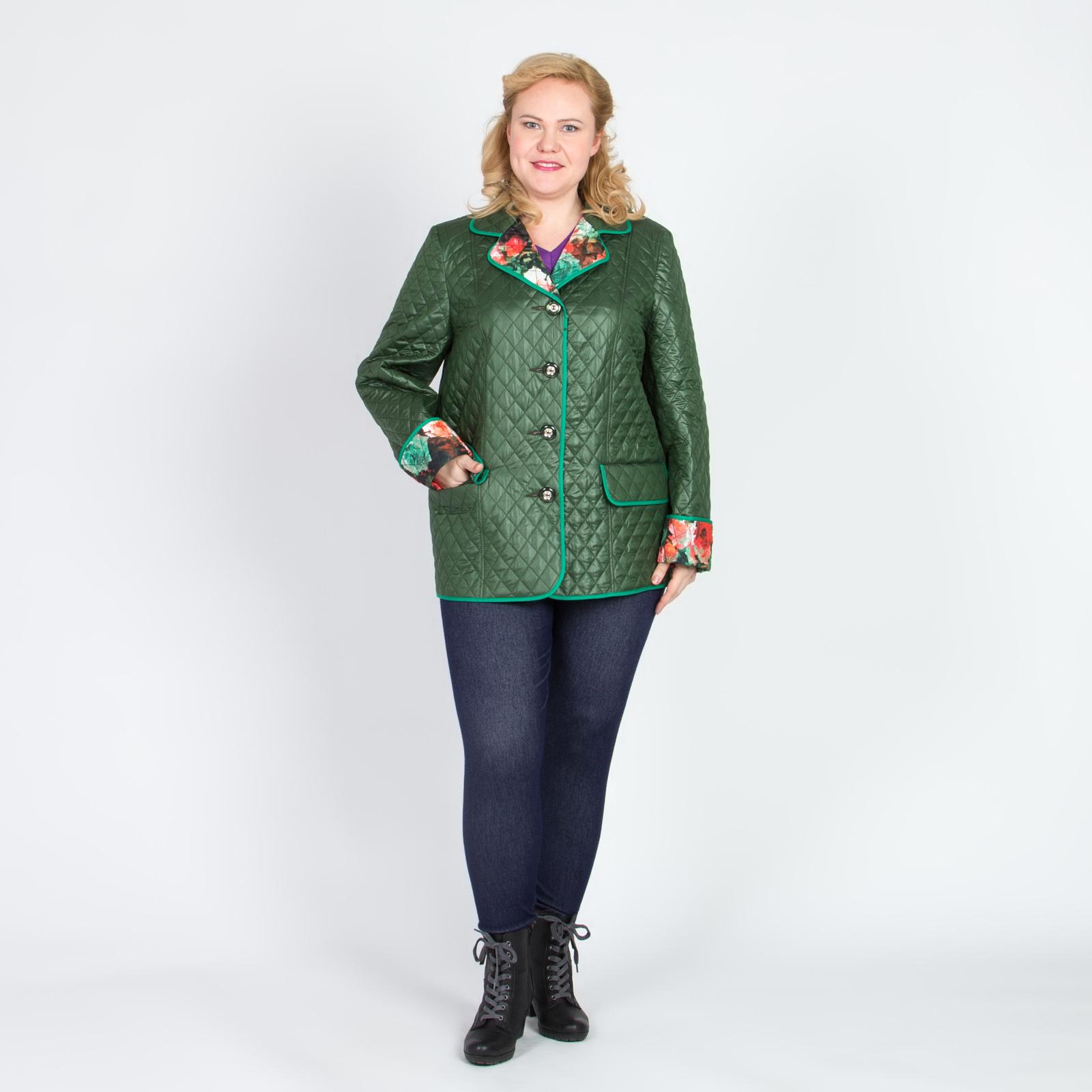 Куртка стеганой ткани «Изящная леди»