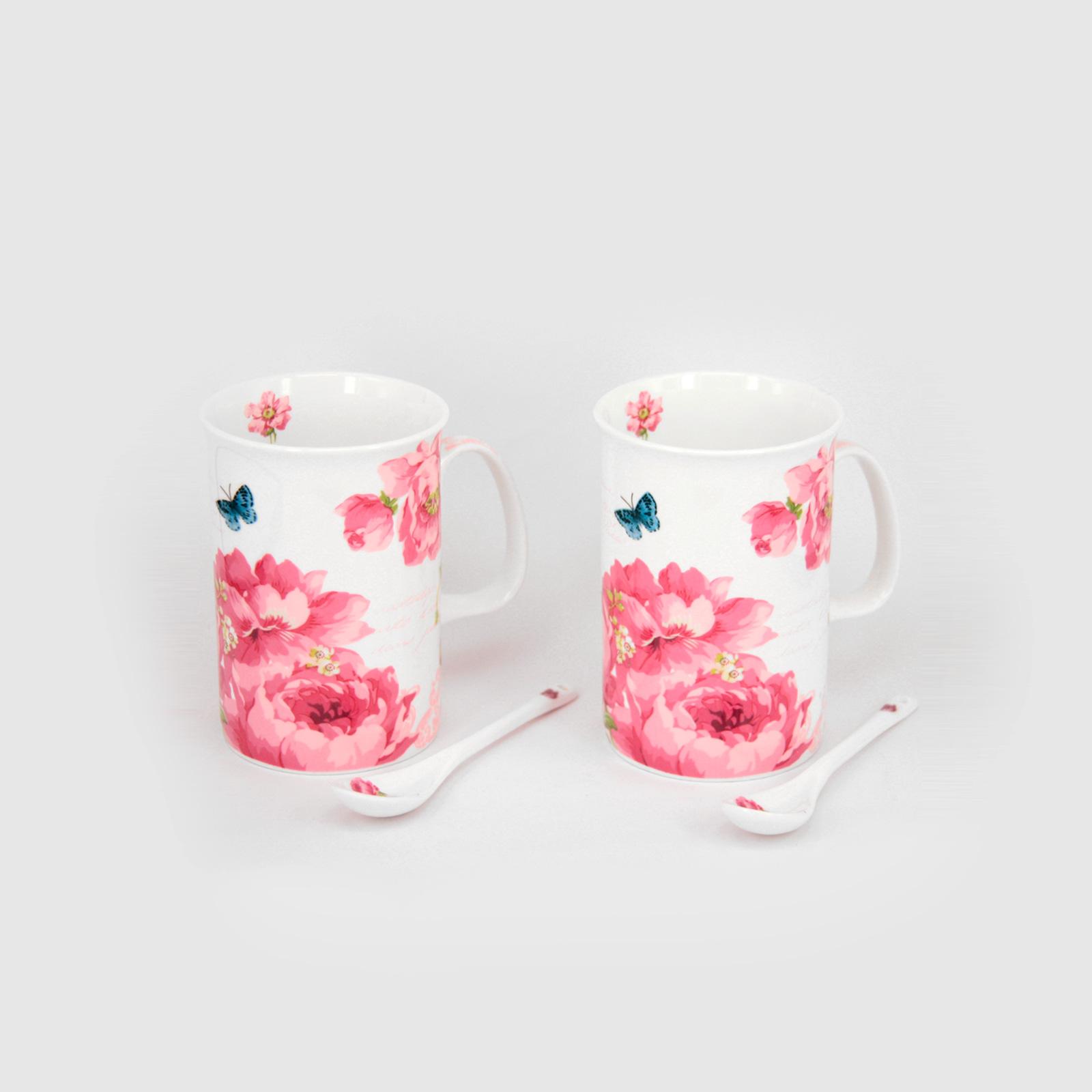 Чайная пара «Нежный пион»