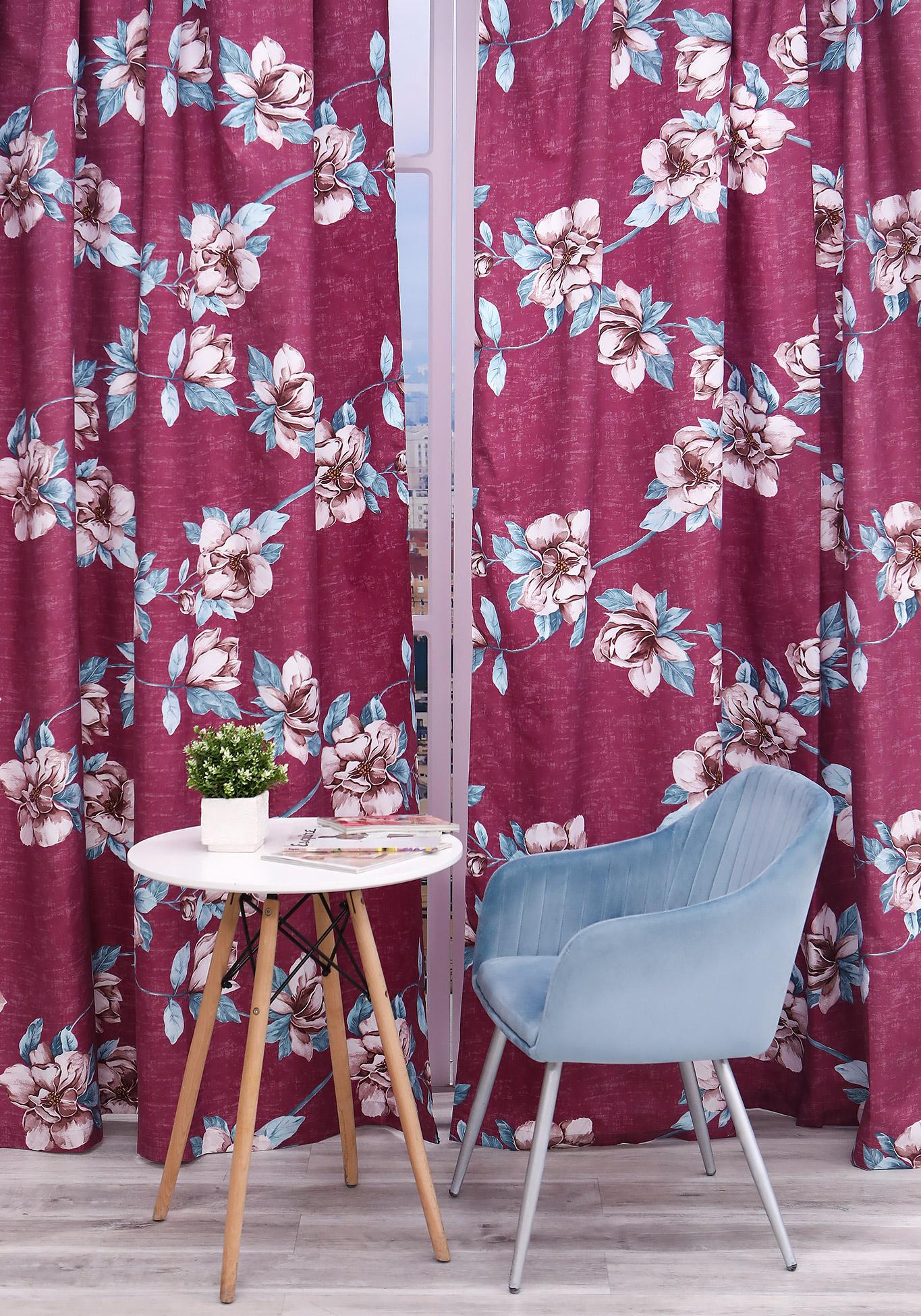 Комплект портьер Цветочный каприз комплект портьер цветочный каприз