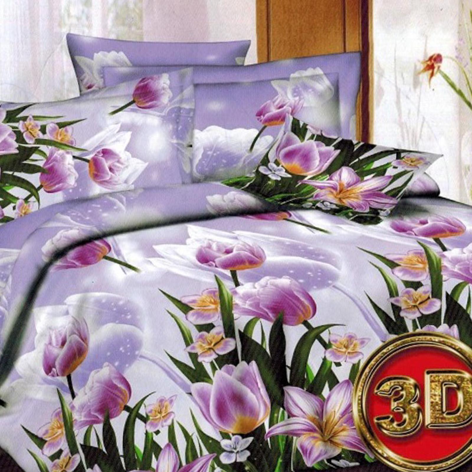 Комплект постельного белья «Весенние тюльпаны»