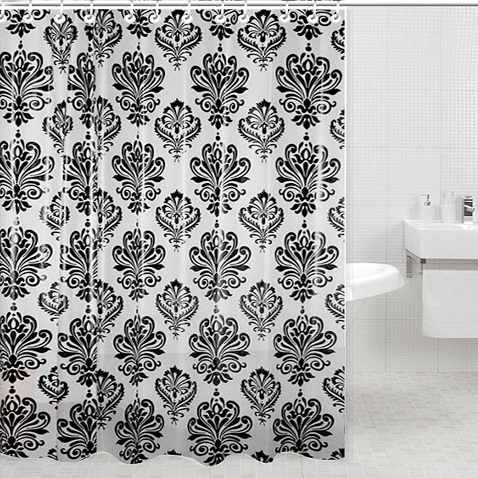 Штора для ванной комнаты «Графские вензеля»