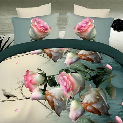 Комплект постельного белья «Вечерний букет»