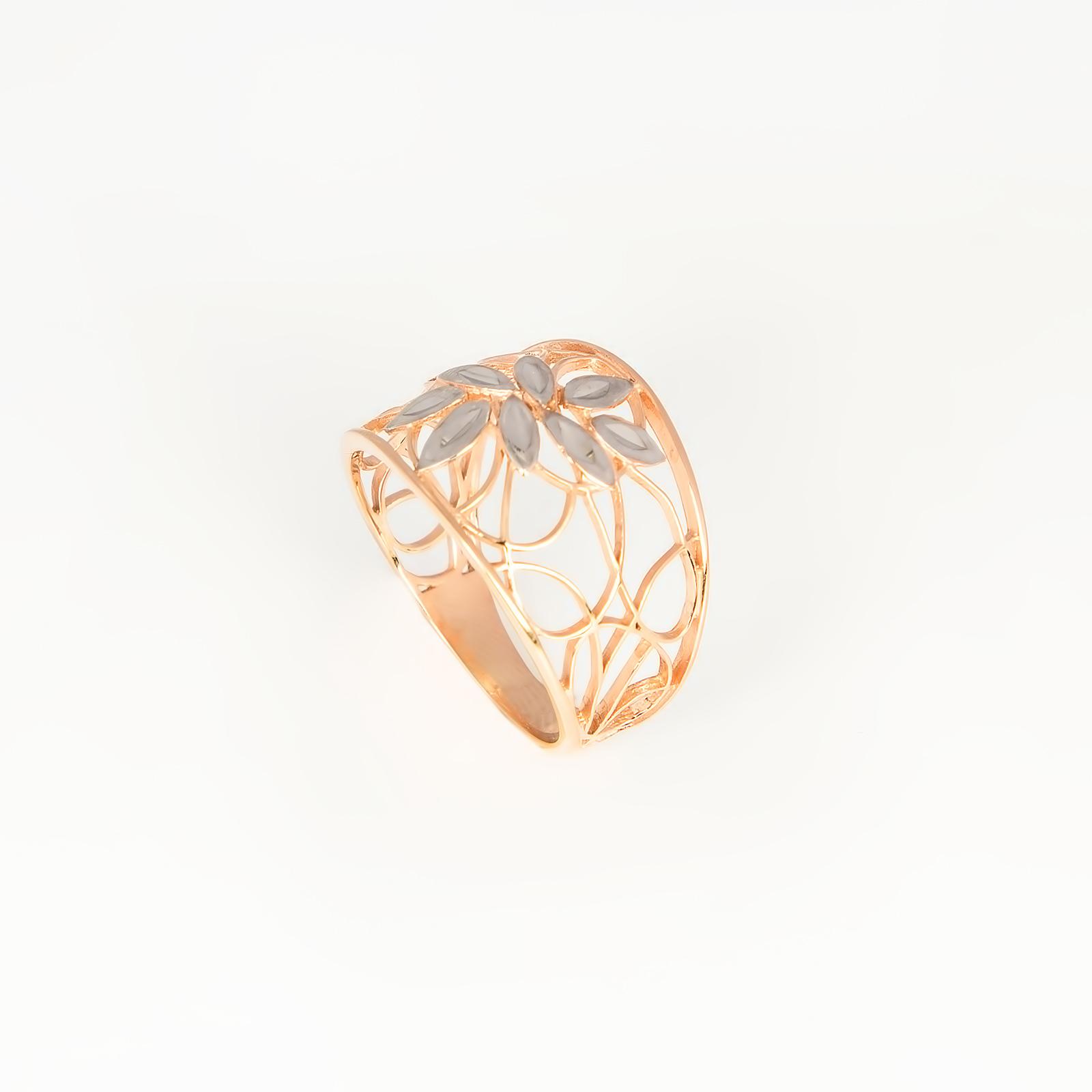 Серебряное кольцо «Солнечный луч»