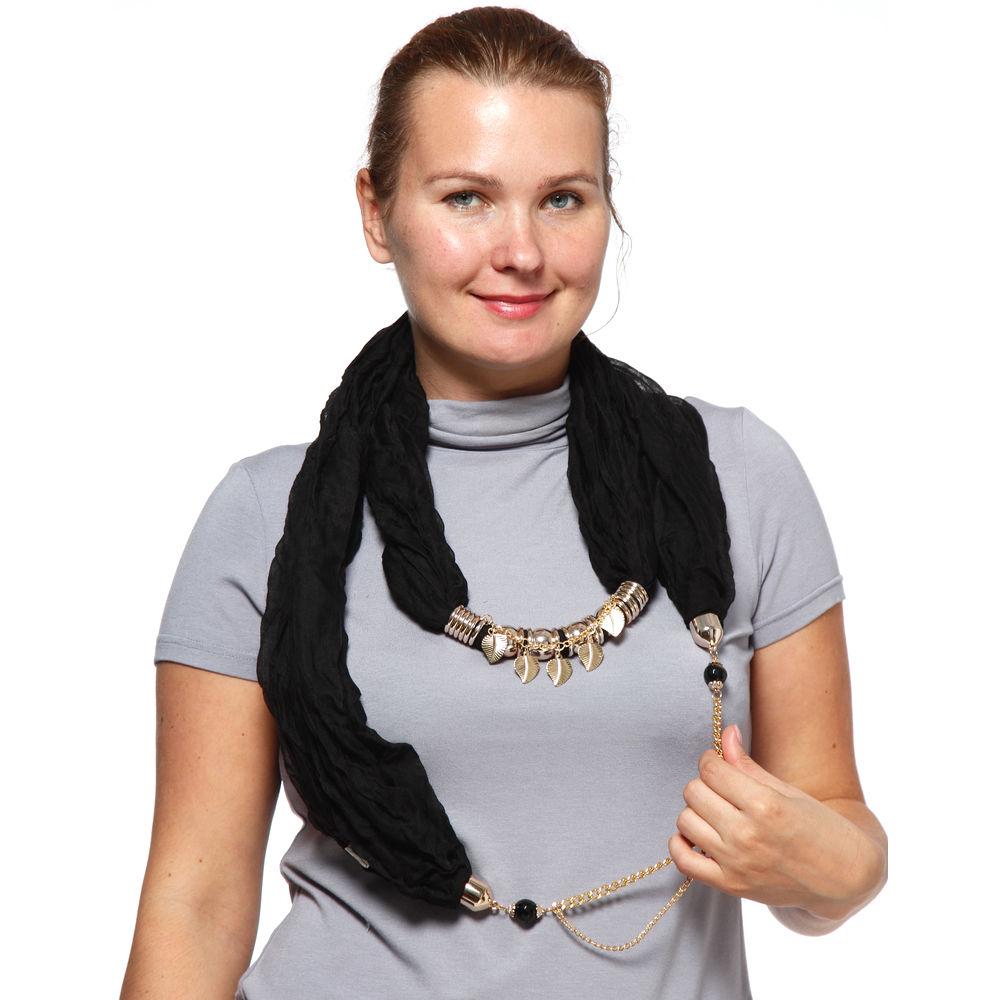 Шарф-ожерелье «Восточная царица»