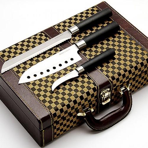 """Набор Японских ножей """"Статус"""", 10 предметов"""