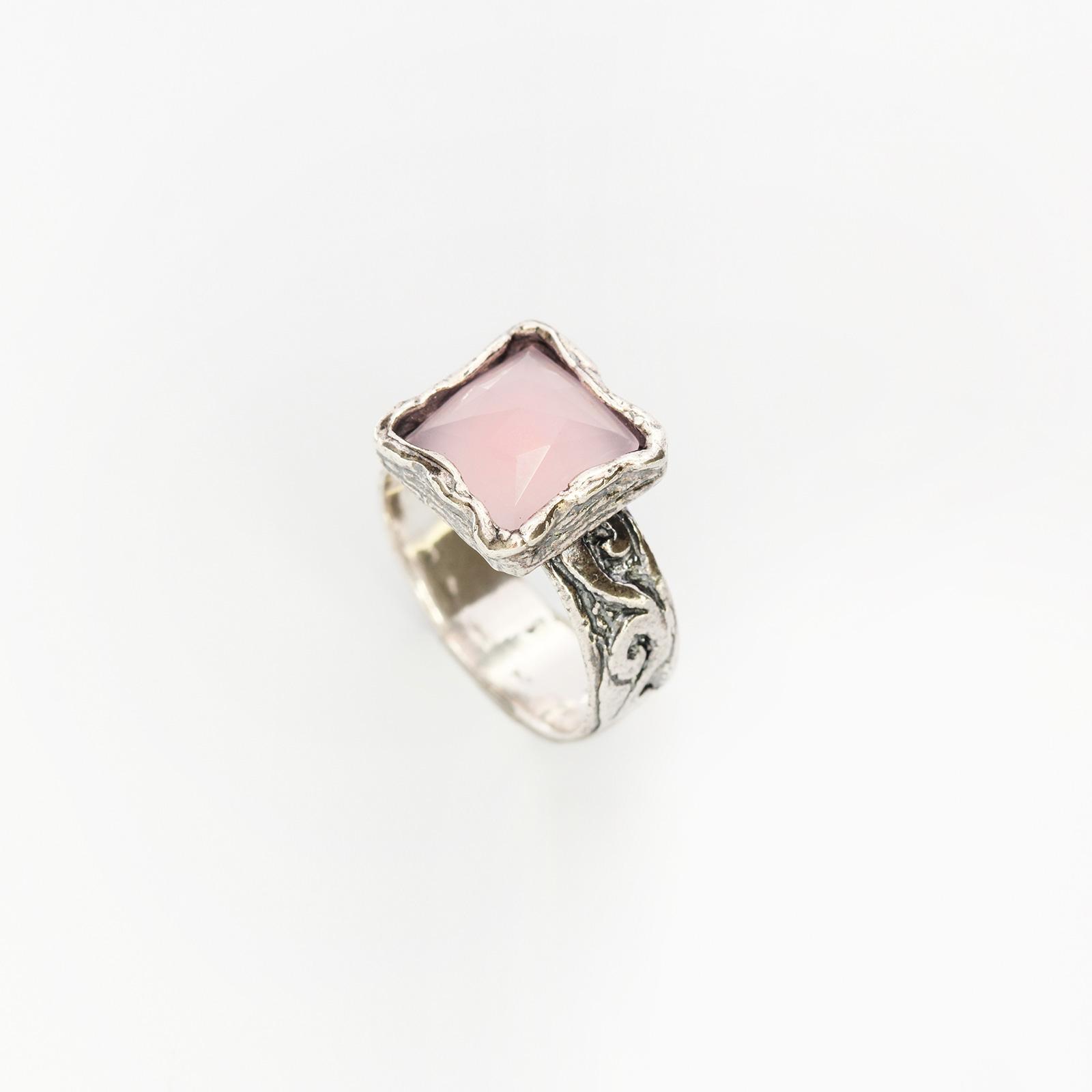 Серебряное кольцо «Прекрасная маркиза»