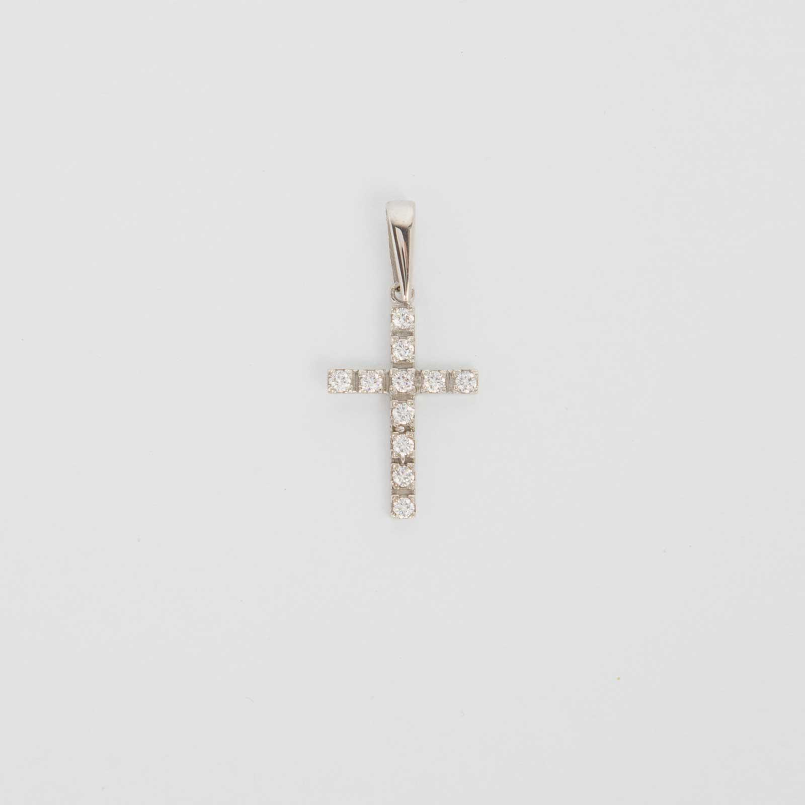 Серебряный крест «Декоративный»