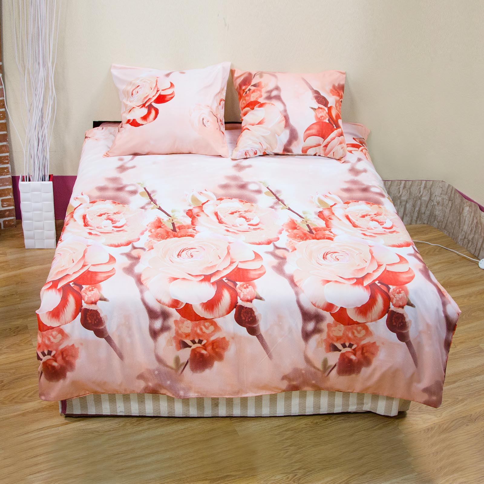 Комплект постельного белья «Южная роза»
