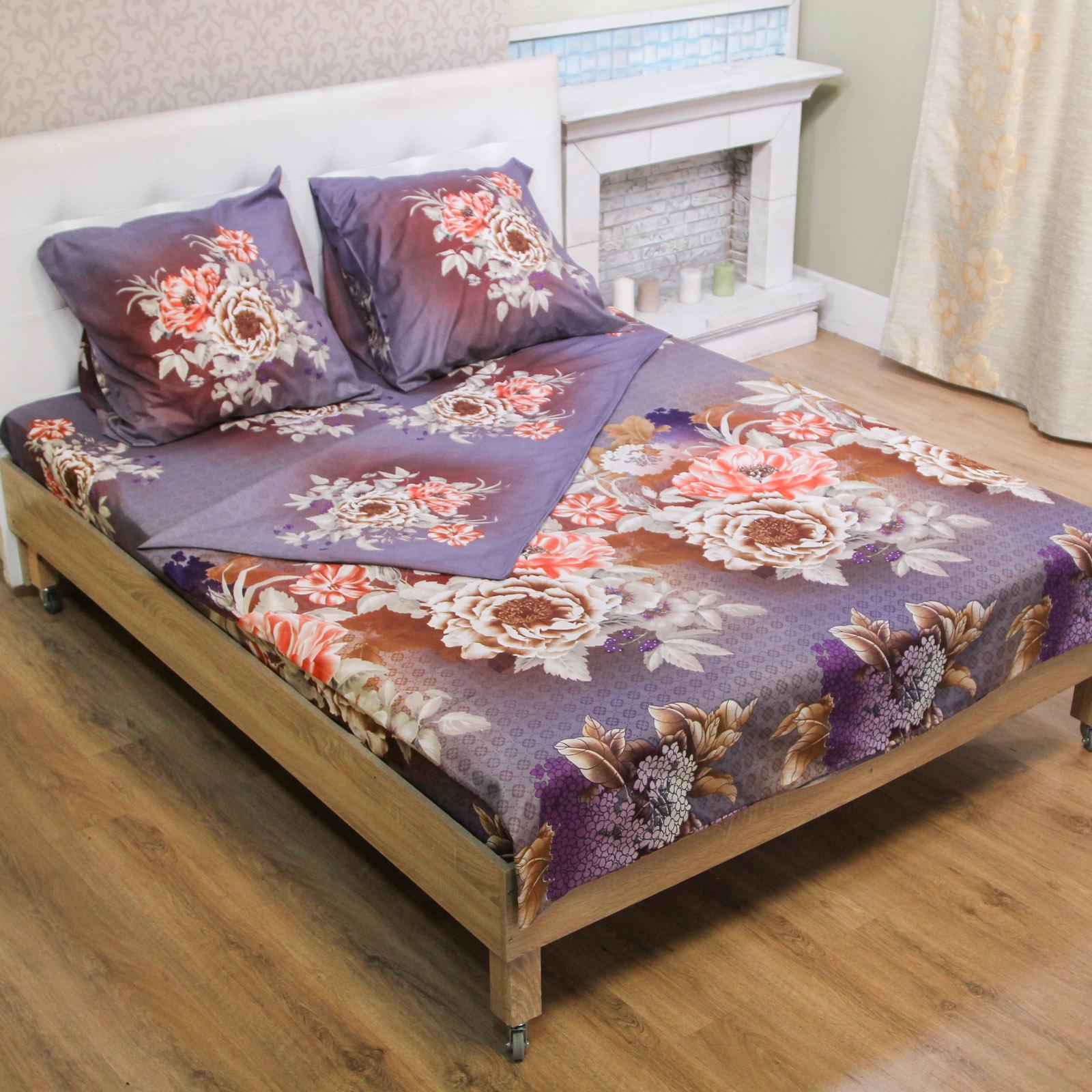 Комплект постельного белья «Вечерний пион»