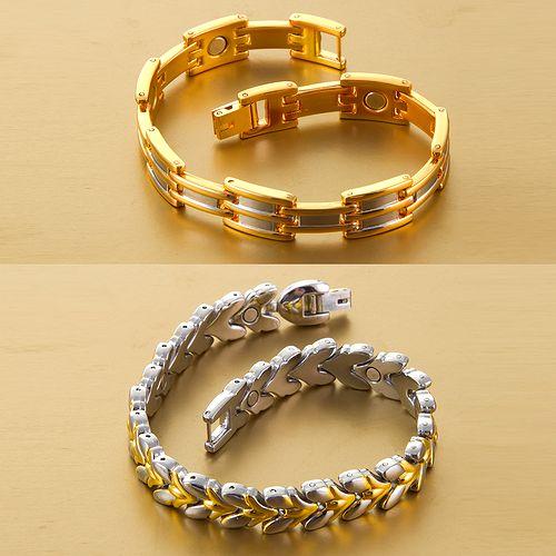 Комплект магнитных браслетов «Притяжение»
