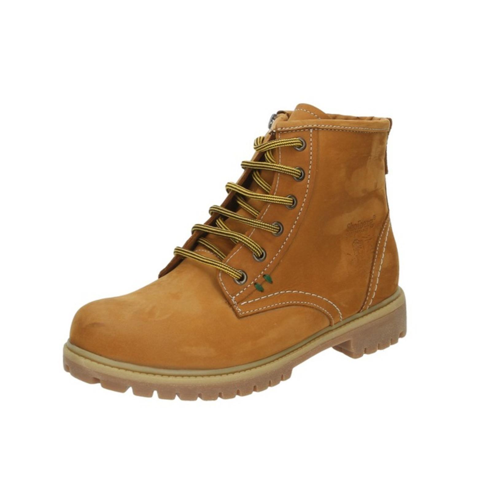 Мужские зимние ботинки с контрастными нитями
