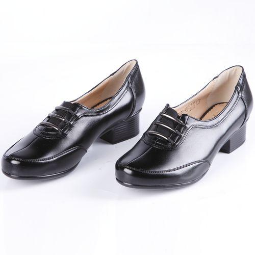 Туфли женские на комфортном низком каблуке