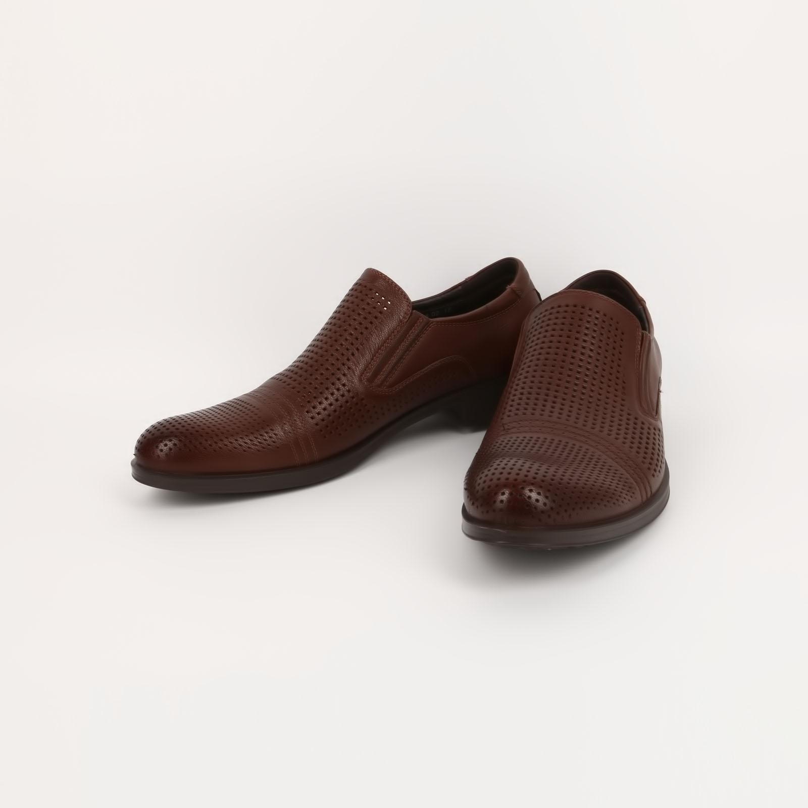 Лeтние мужские туфли с перфорацией