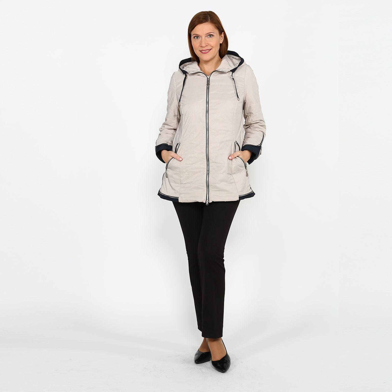 Куртка с карманами на молнии