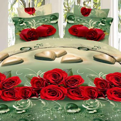 Комплект постельного белья «Сердечные тайны»