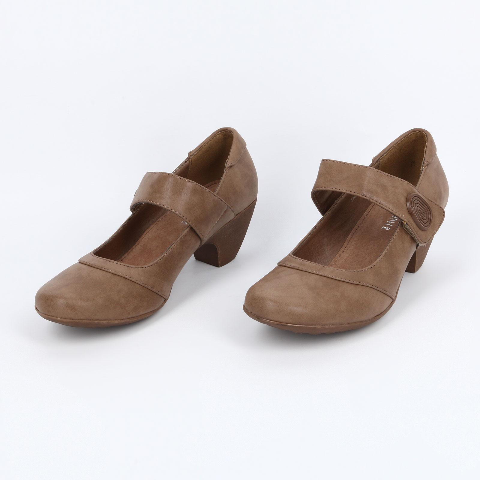 Туфли женские с застежкой на липучке