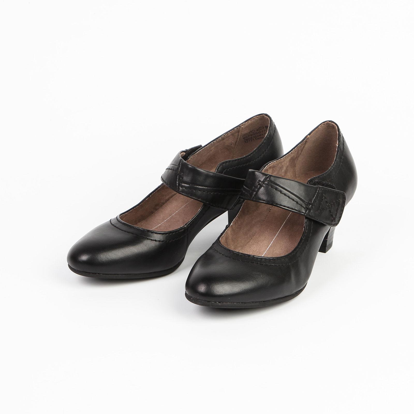 Туфли с ремешком на липучке