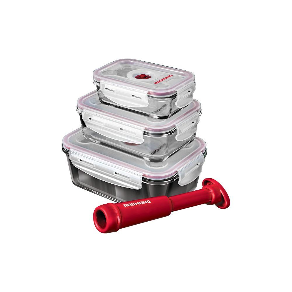 Набор вакуумных контейнеров с насосом «Свежесть»