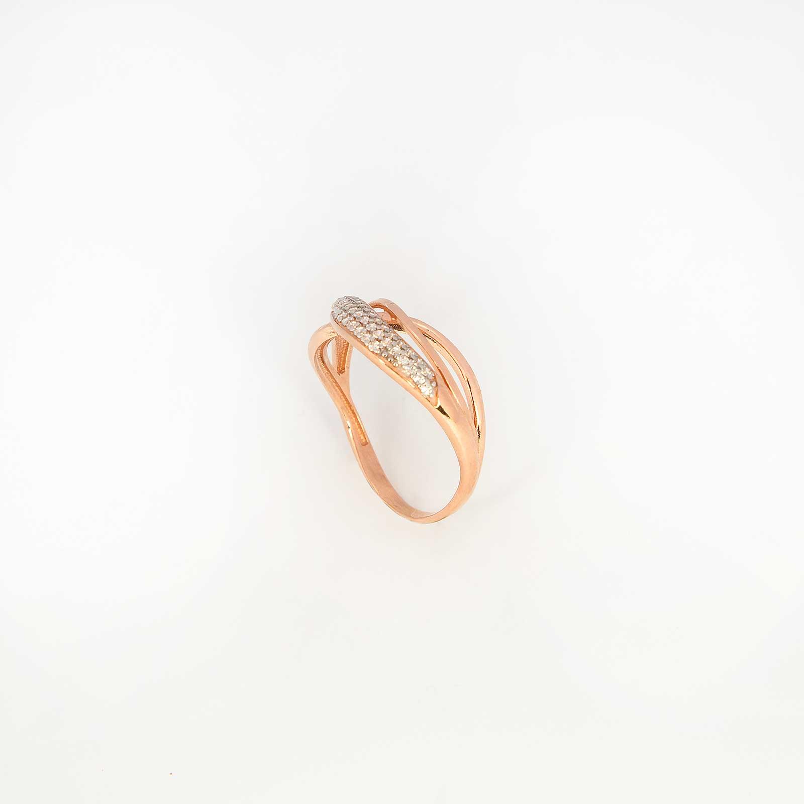 Серебряное кольцо «Вечерний прибой»