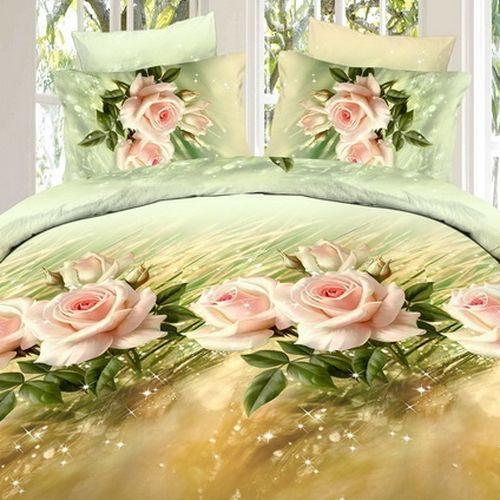 Комплект постельного белья «Нежный аромат розы»