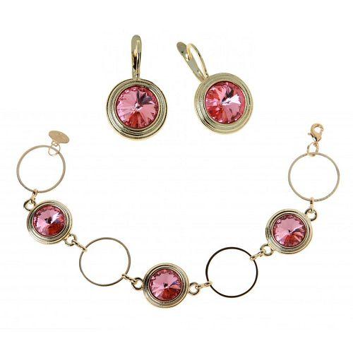 Комплект украшений «Калейдоскоп» купить браслет пандора в интернет магазине оригинал
