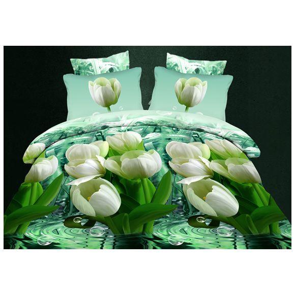 Комплект постельного белья «Свежесть тюльпана»
