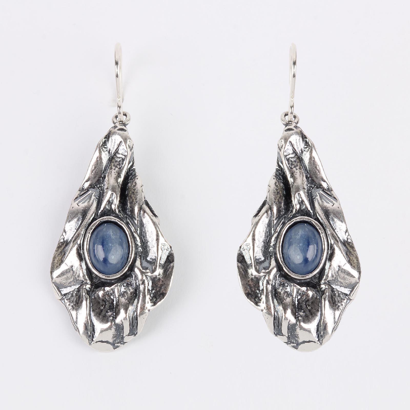 Серебряные серьги «Великолепный век»