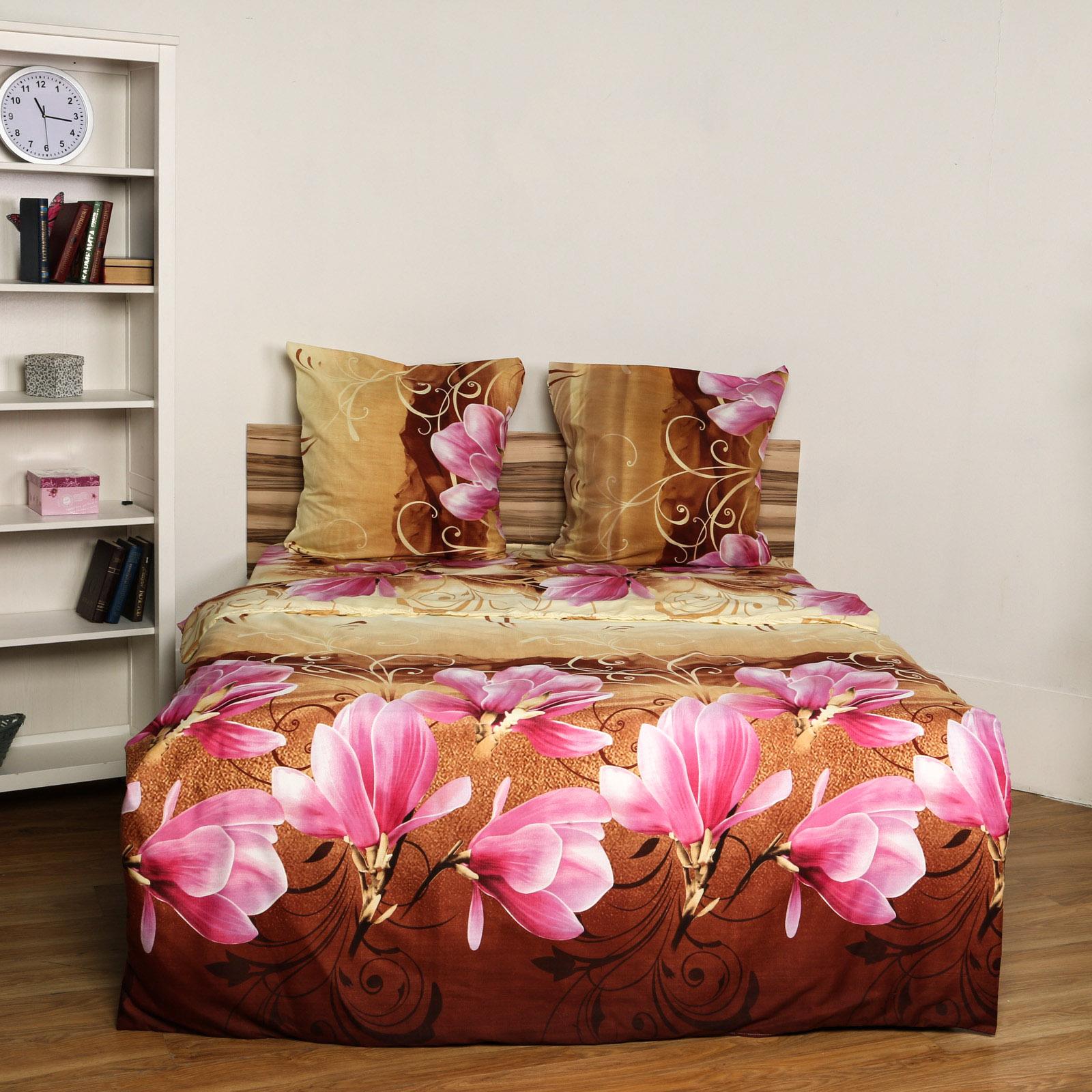 Комплект постельного белья «Розовая Магнолия»
