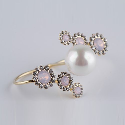 Кольцо «Розовые переливы»