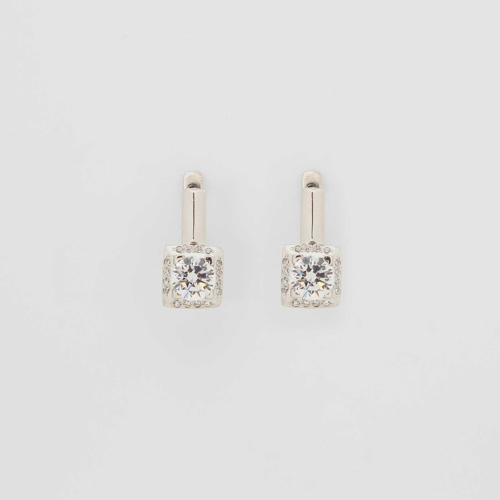 Серебряные серьги «Вероника»