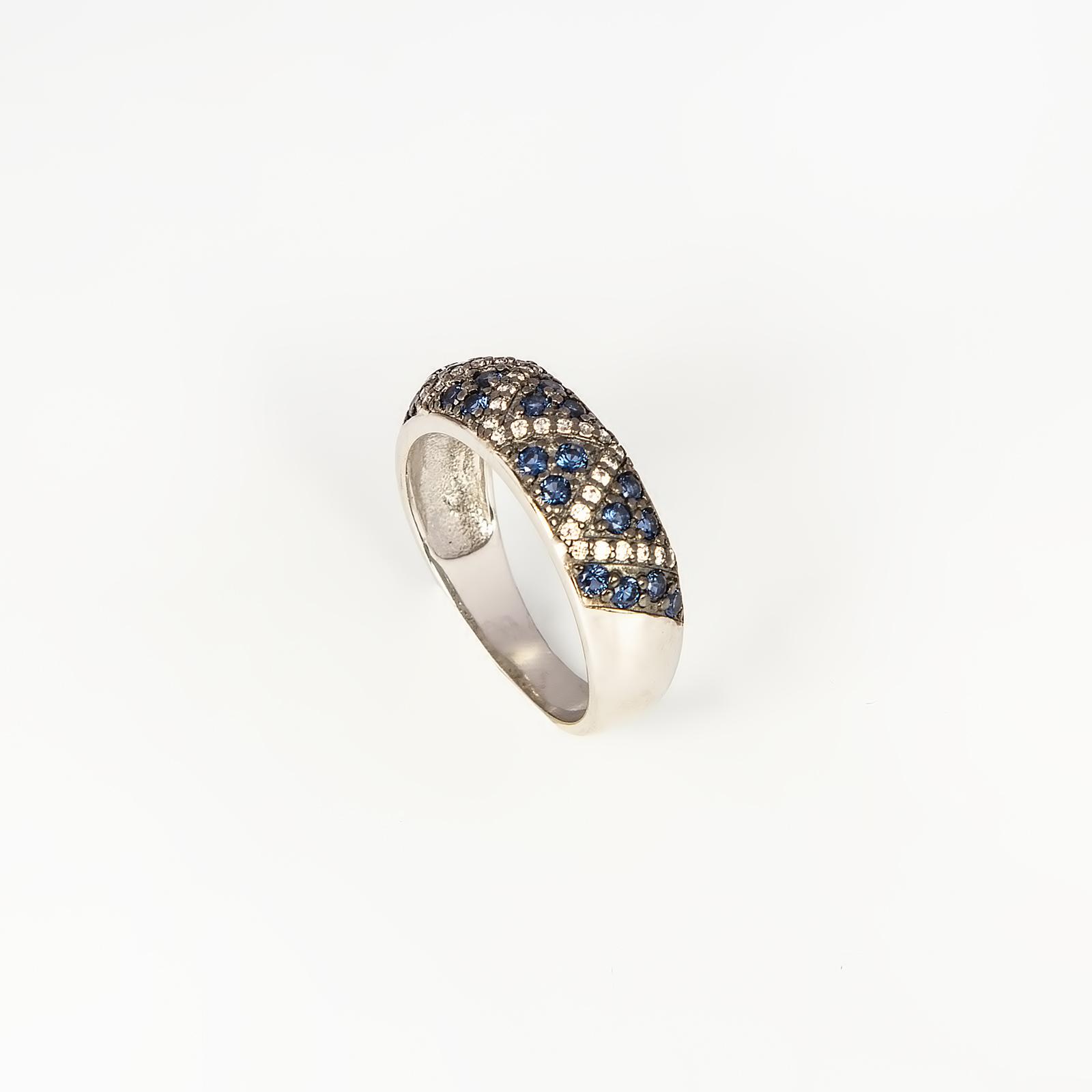 Серебряное кольцо «Драгоценная сказка»