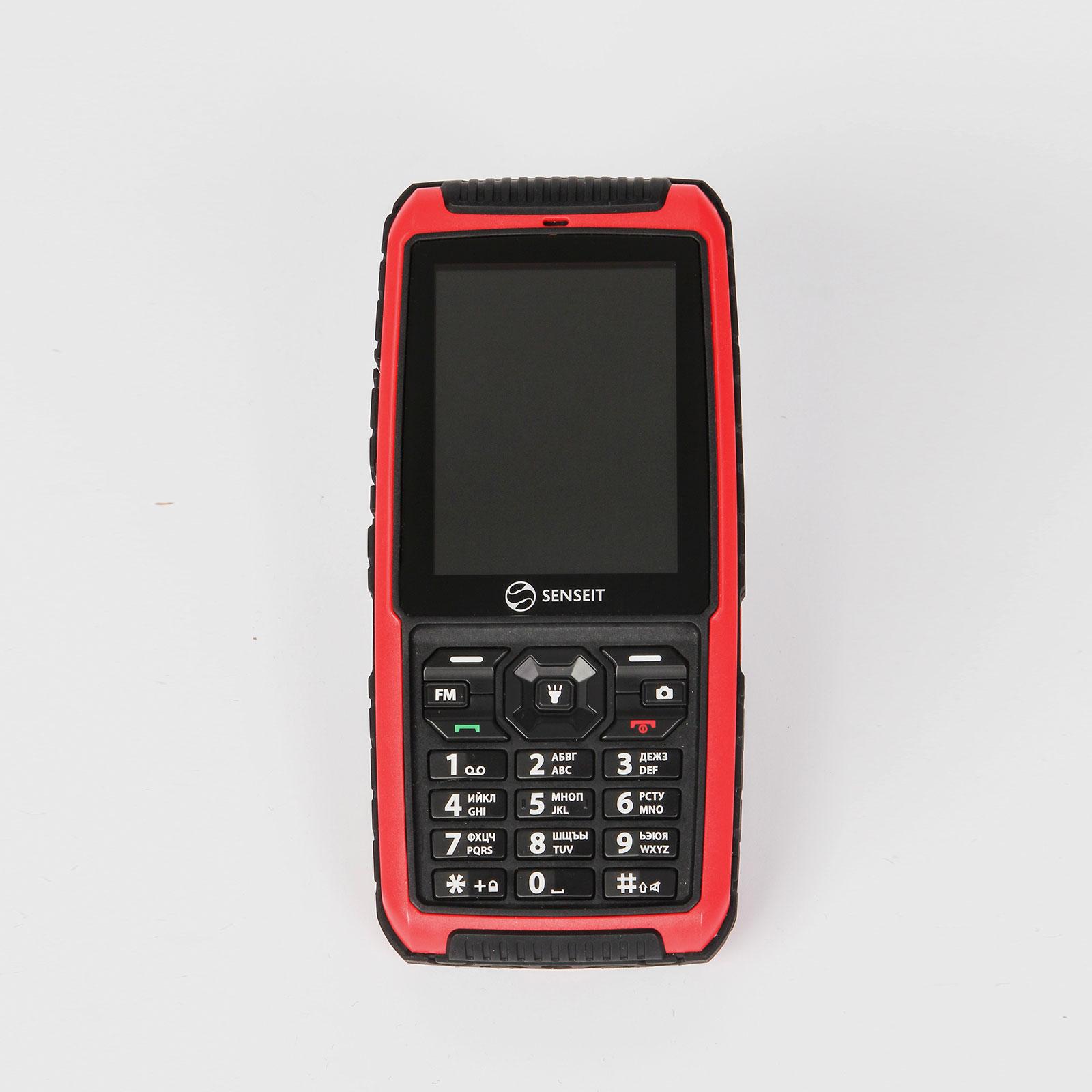 Защищенный телефон Крепкий орешек ОГНЕННЫЙ защищенный телефон с рацией и gps