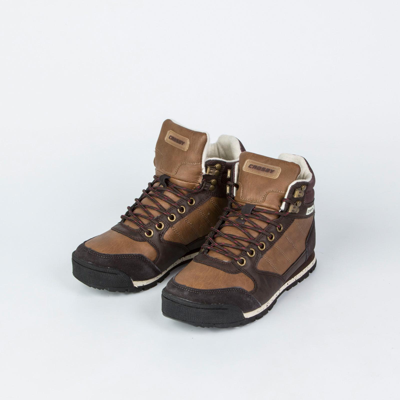 Женские спортивные зимние ботинки на шнуровке