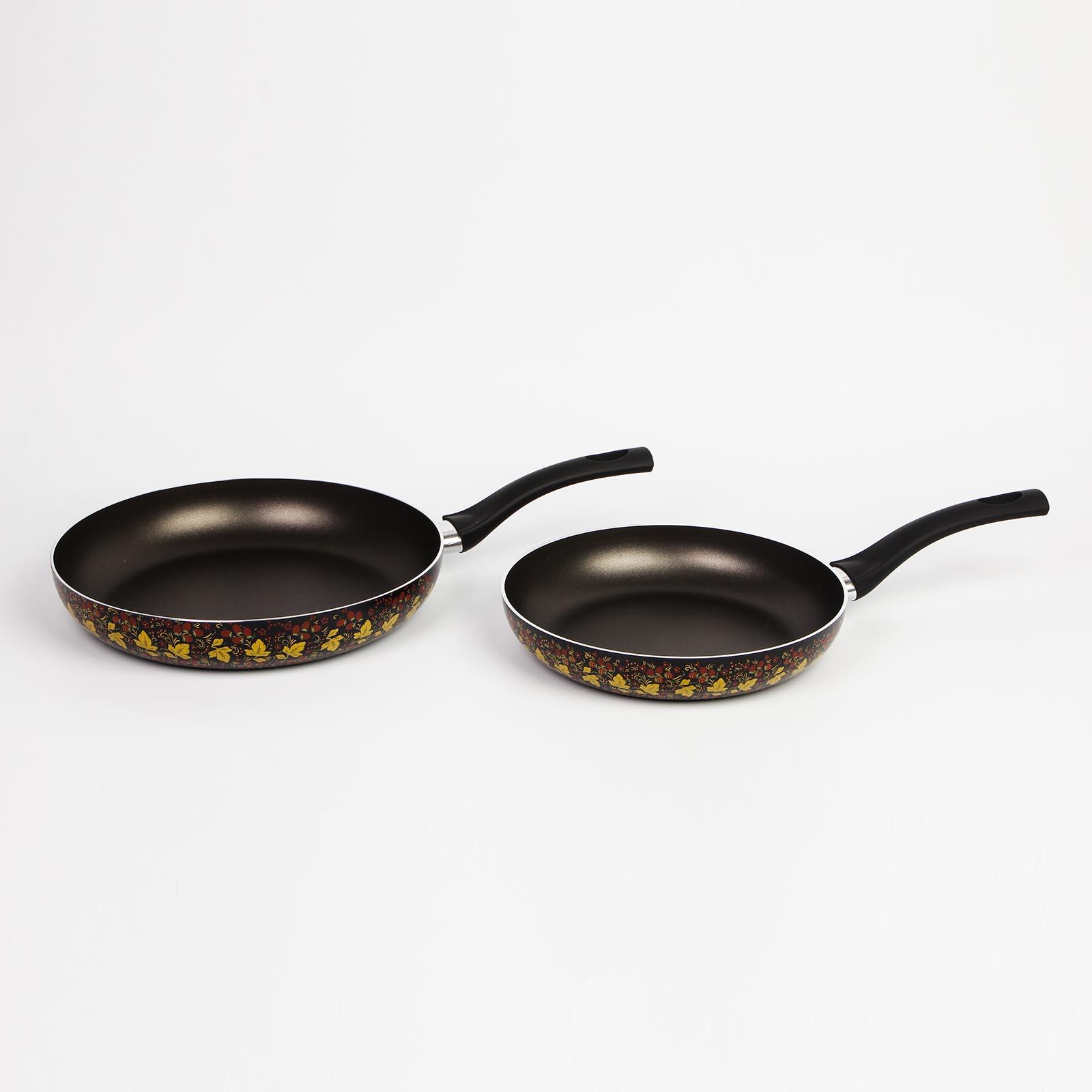 Сковорода с антипригарным покрытием, серия «Хохлома»